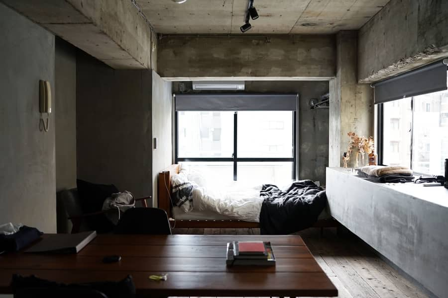 How large is a studio apartment
