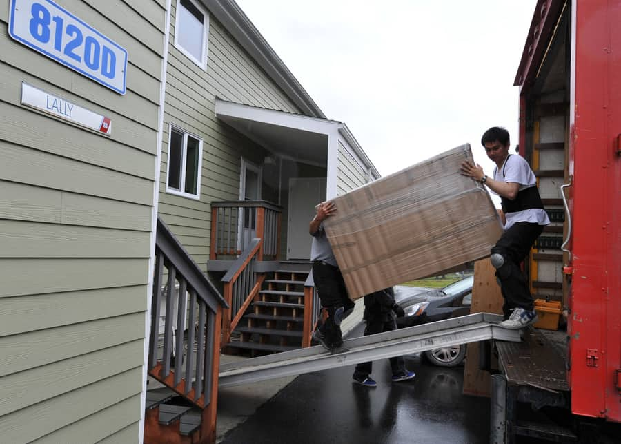 How long does it take to move an apartment