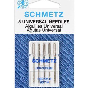 Schmetz 90/14 Universal Sewing Machine Needles 5pcs